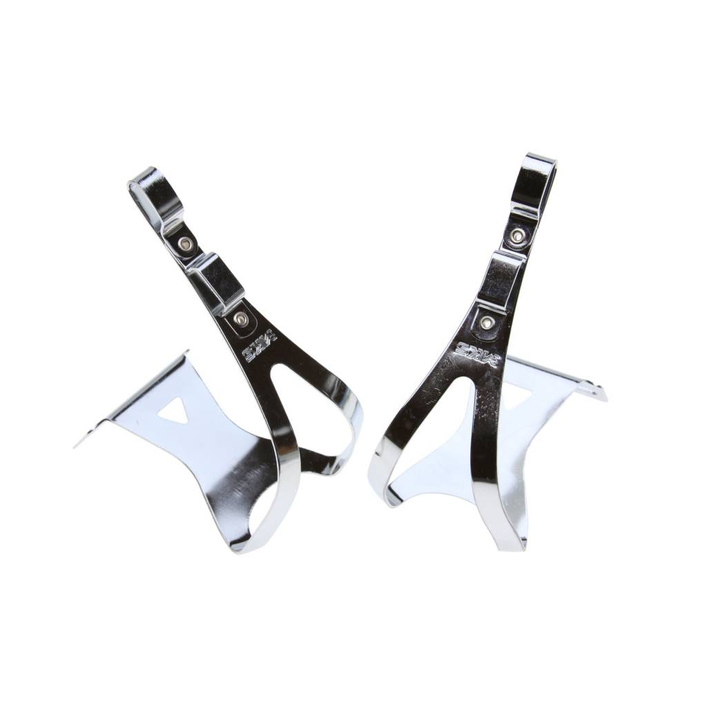 MKS Steel Deep Twin Toe Clips