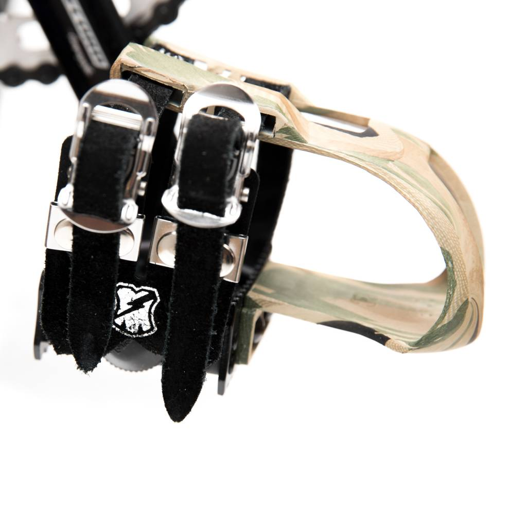 MKS X MASH Fit-A Sport Laminated Leather Double Toe Straps
