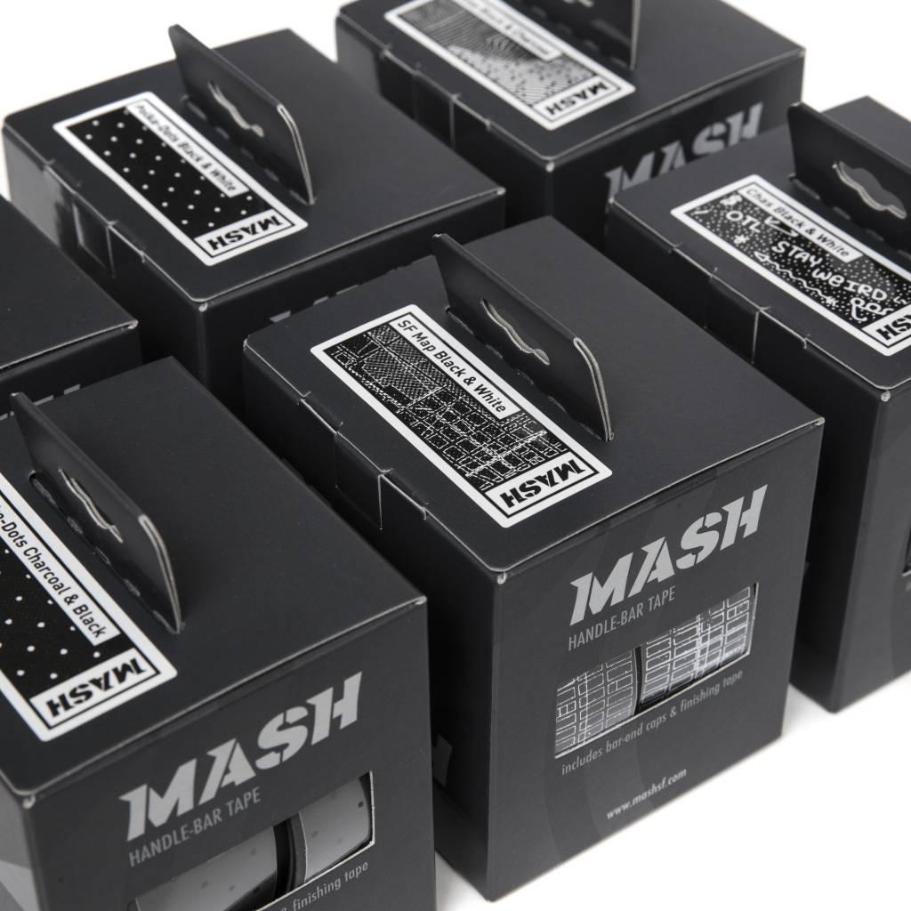 MASH CITY MAP TAPE BLACK