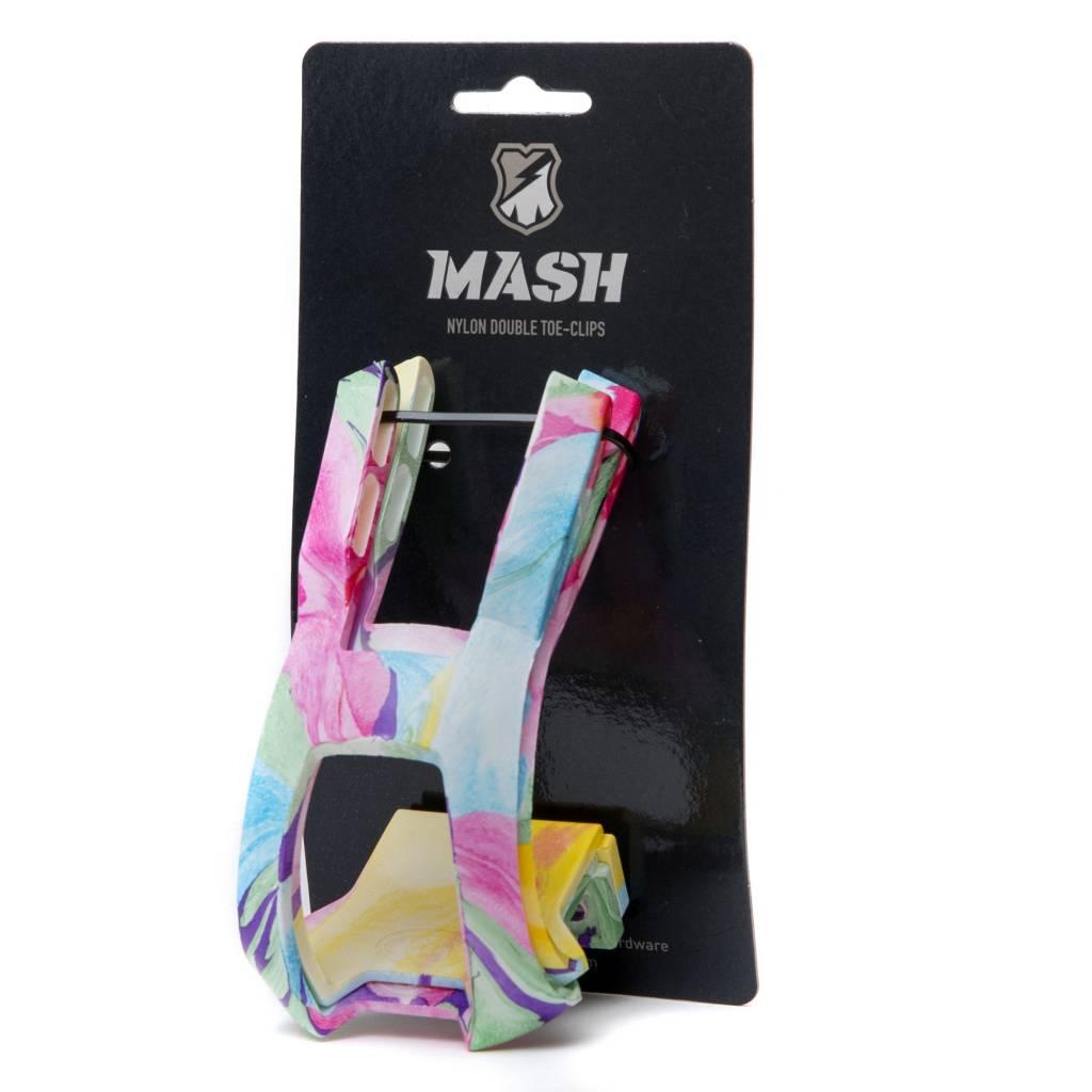 MASH NYLON DOUBLE TOE CLIPS + LOCKING HARDWARE