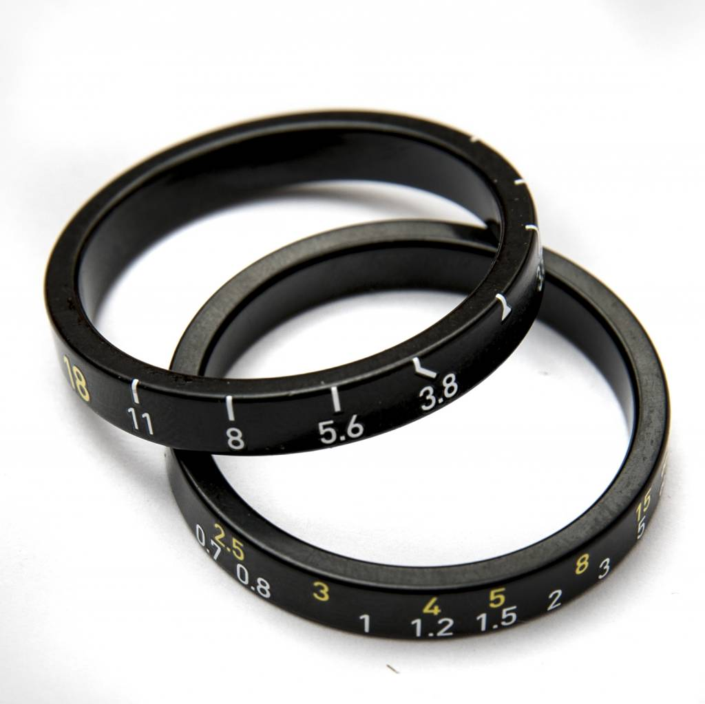 MASH Lens Spacers Black 5mm 2 Pieces