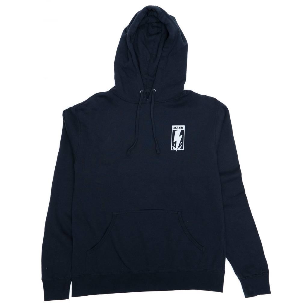 MASH Bolt Pullover Hoodie Navy Blue