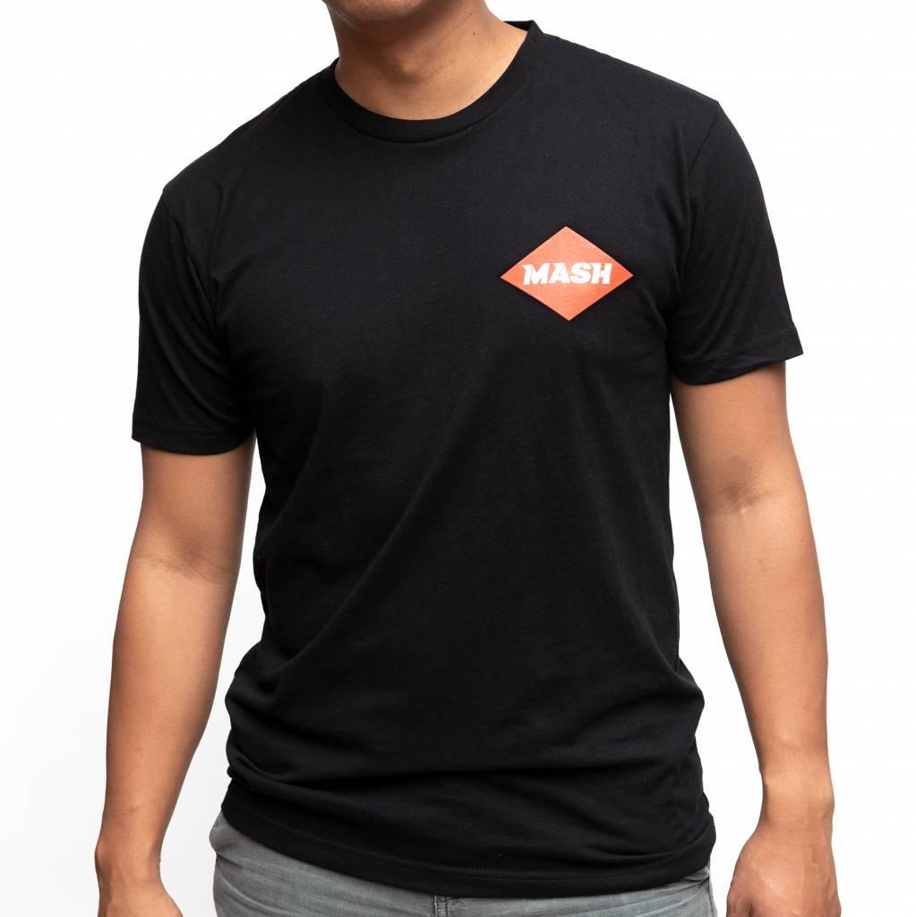 MASH MASHCOLOUR Film T-Shirt Black