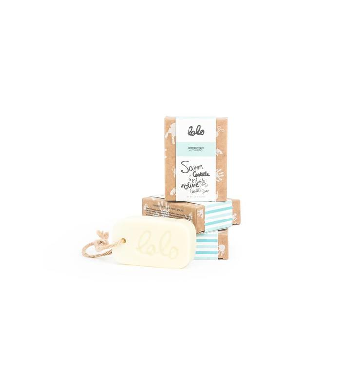 Lolo LOLO AUTHENTIC OLIVE OIL CASTILE SOAP