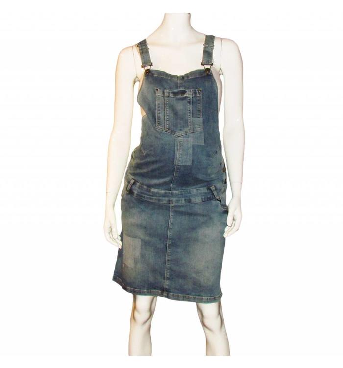 Gebe Gebe denim overalls Dress, CR