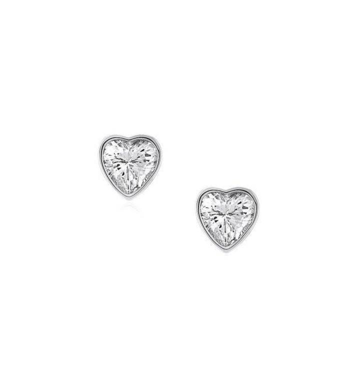 Cherished Moments Cherished Moments Heart Earrings