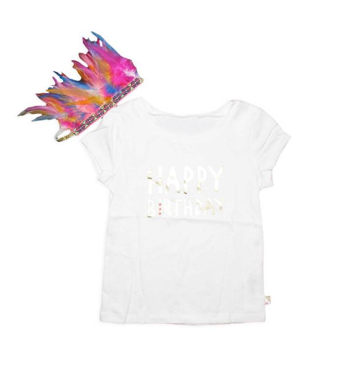 Billieblush T-Shirt+Couronne Billieblush