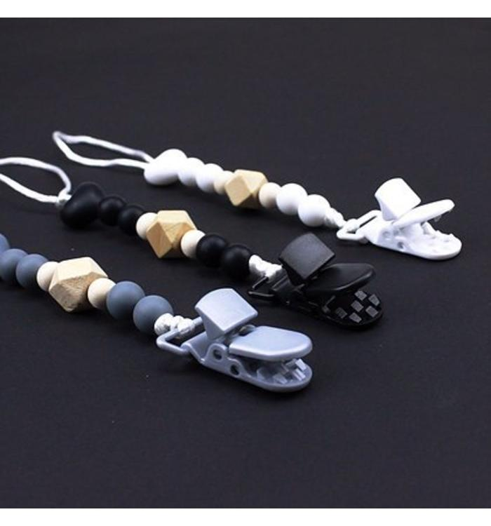 Tic Tac Bow TIC TAC BOW PACIFIER CLIP