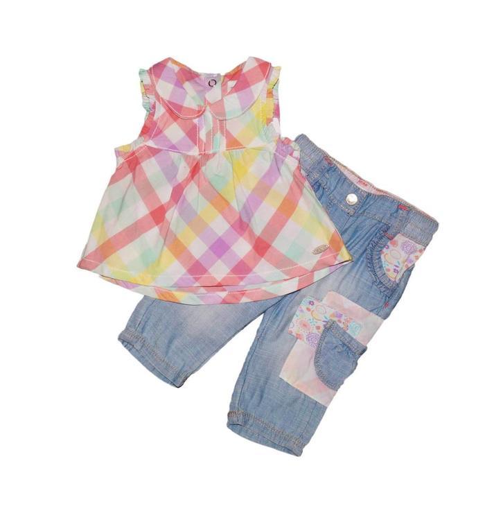 Kanz Kanz Blouse and Pants Set
