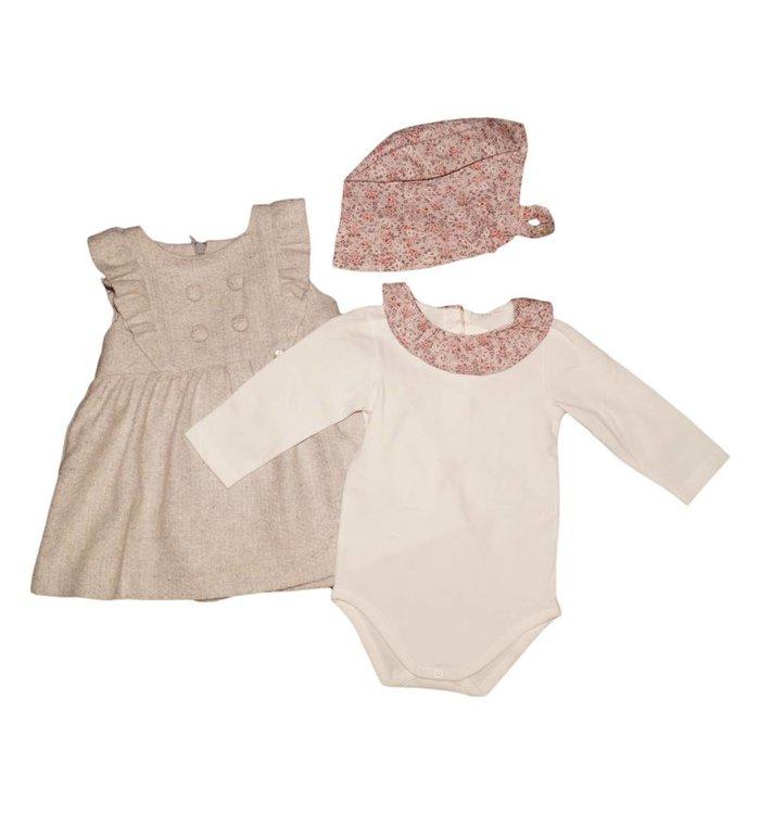 Pureté de Bébé Pureté de Bébé Girl's Dress & Onesie, AH
