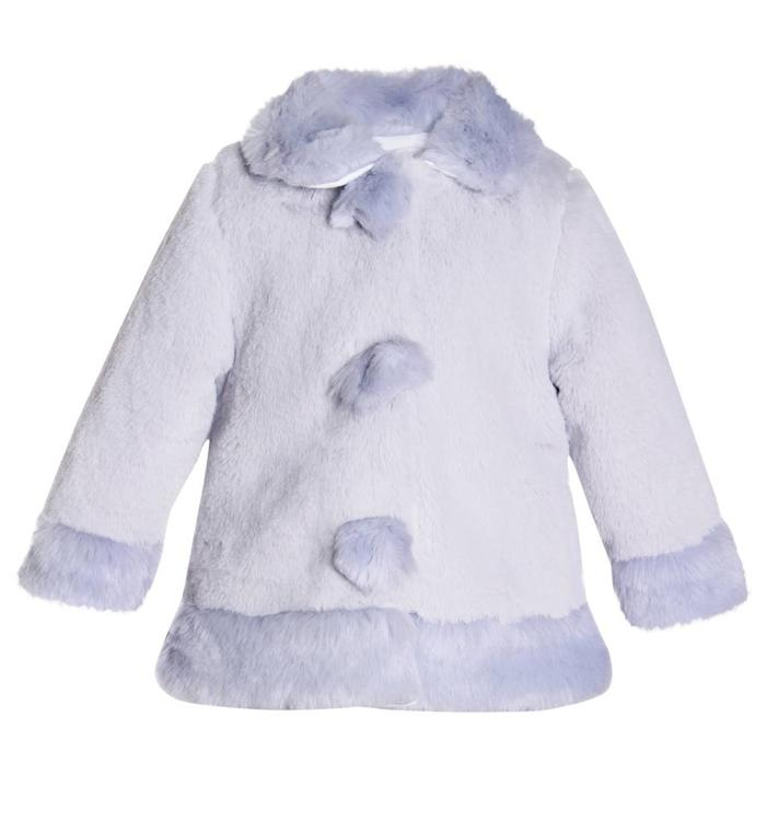 Patachou Patachou Girl's Fur Jacket, AH