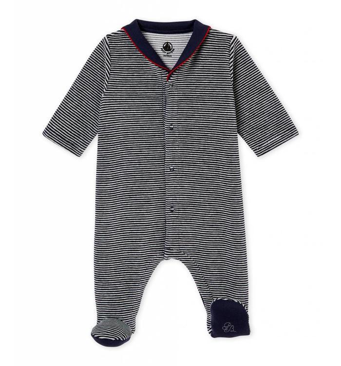 Petit Bateau Petit Bateau Footie Pyjama, CR