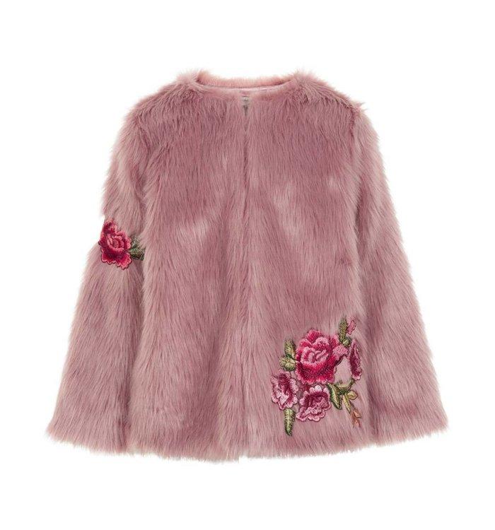 Jacket Fourrure Fille Creamie, AH