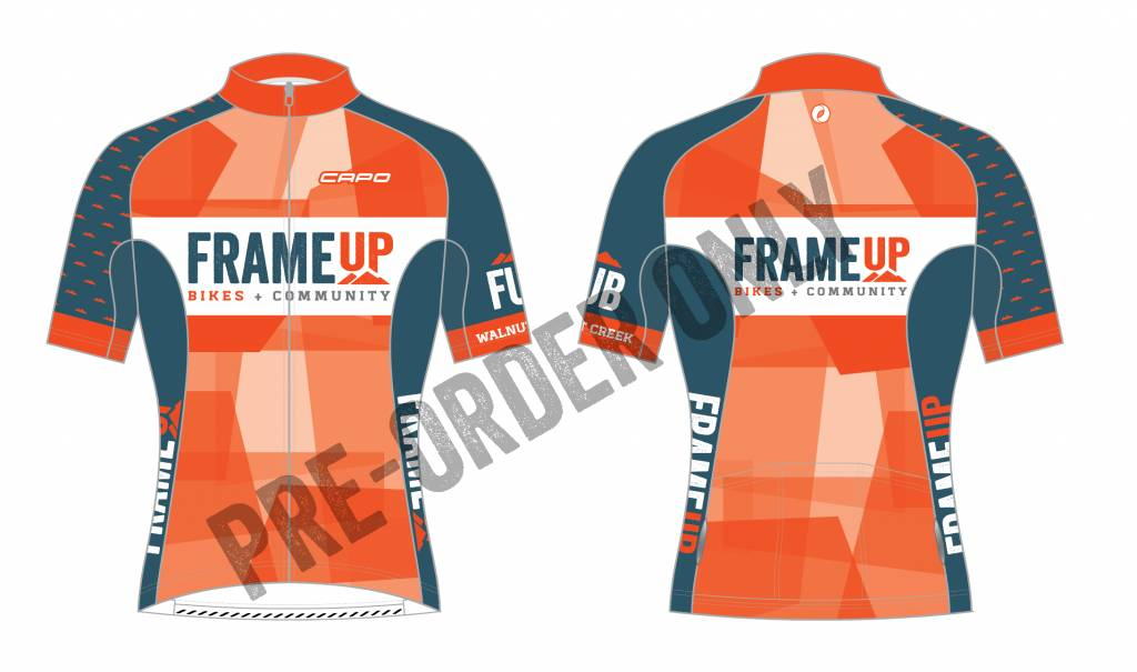 Frame Up Bikes Team Kit Club Fit Corsa Jersey by Capo - Frame Up ...