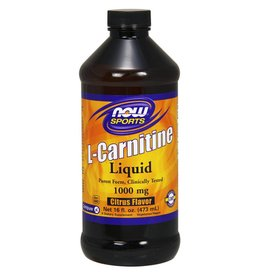 NOW L-Carnitine Liq 2X Citrus 473mL