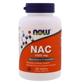 NOW NAC 1000mg Extra Strength 120tab