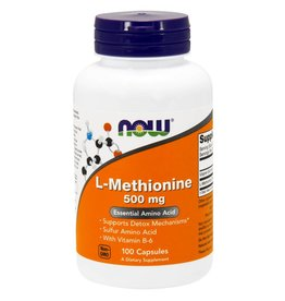 NOW Methionine 500mg 100cap
