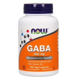 NOW GABA 500mg + B-6 100vcap
