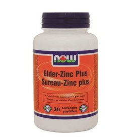 NOW Elder-Zinc Plus Lozenges 30Loz