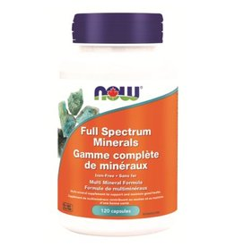 NOW Full Spectrum Minerals 120cap