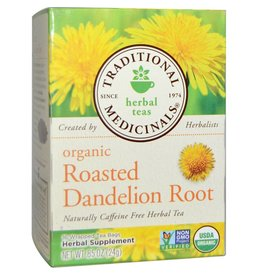 Traditional Medicinals Roasted Dandelion Root 16 Tea Bags