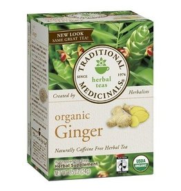 Traditional Medicinals Ginger 16 Tea Bags
