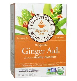 Traditional Medicinals Ginger Aid 16 Tea Bags
