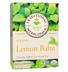 Traditional Medicinals Lemon Balm 16 Tea Bags