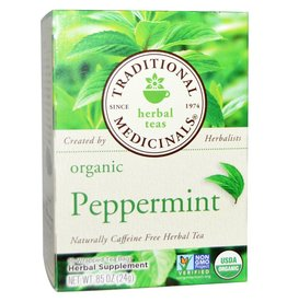 Traditional Medicinals Peppermint Tea 16 Tea Bags