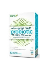 Genuine Health Advanced Gut Probiotic 15 billion 30 caps