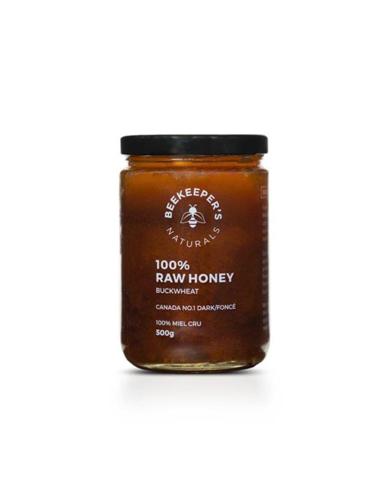 Beekeepers Naturals Buckwheat Honey 500g