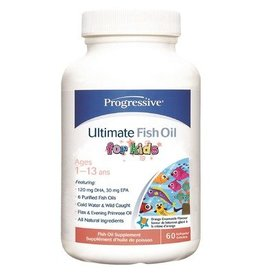 Progressive Progressive Ultimate Fish Oil for Kids 60 sgels