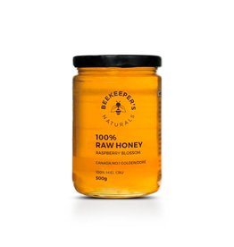 Beekeepers Naturals Raspberry Blossom Honey 500g