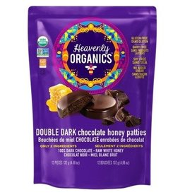 Heavenly Organics Heavenly Organics Double Dark Chocolate Bag 12 pieces