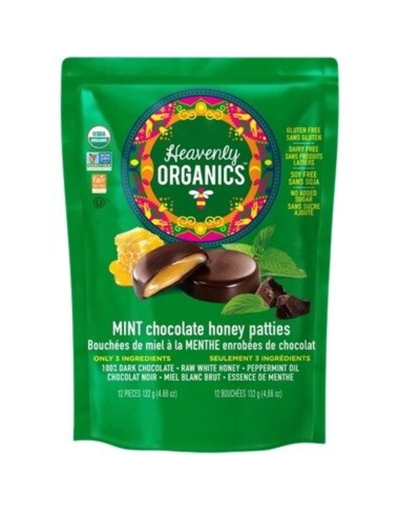 Heavenly Organics Heavenly Organics Mint Chocolate Bag 12 pieces