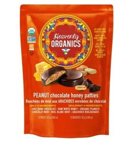 Heavenly Organics Heavenly Organics Peanut Chocolate Bag 12 pieces