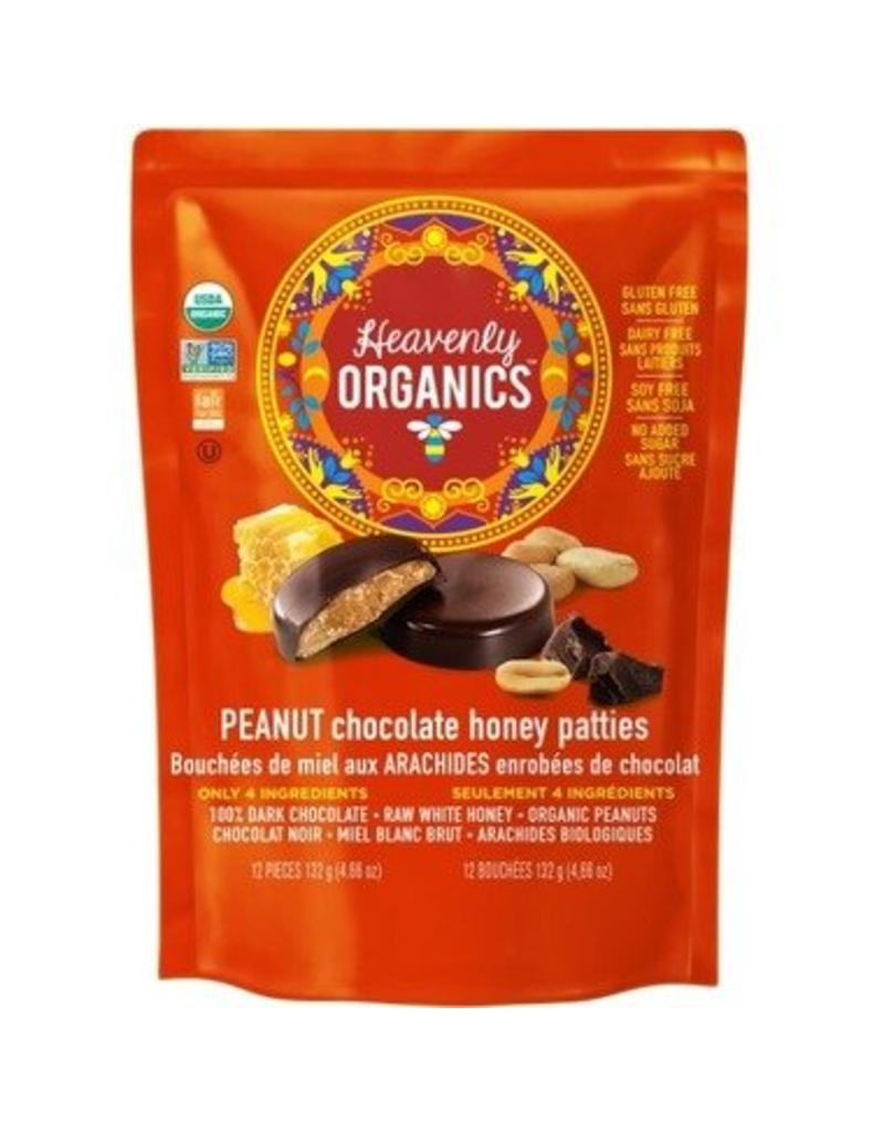 Heavenly Organics Heavenly Organics Peanut Chocolate Bag 12 pieces