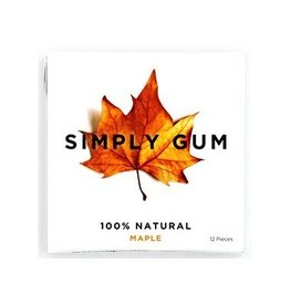 Simply Gum Maple Natural Chewing Gum