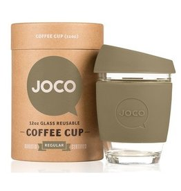 Joco Reusable Glass Cup Olive