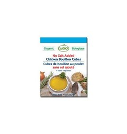 GoBio! Chicken Bouillin Cubes No Salt Added 6 cubes
