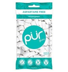 Pur Gum Wintergreen 55 piece bag