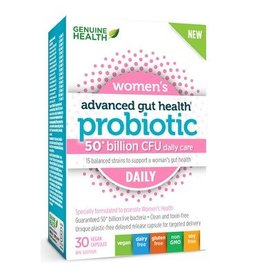 Genuine Health Advanced Gut Health - Probiotic Womens Daily 30 caps