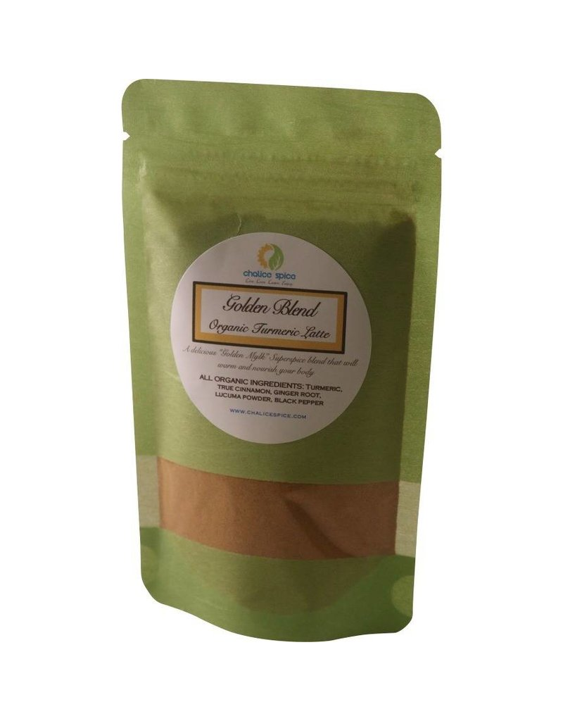 Chalice Spice Golden Blend Organic Turmeric Latte 12 servings