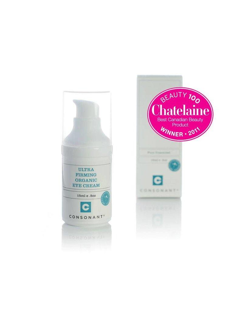 Consonant Skin Care Ultra Firming Organic Eye Cream 15ml