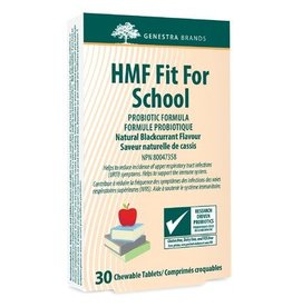 Genestra HMF fit for school 30 chewables Black Currant