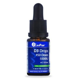Can Prev D3 Drops 1000IU- MCT base 15mL