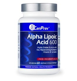 Can Prev Alpha Lipoic Acid 600 mg 60 v-caps