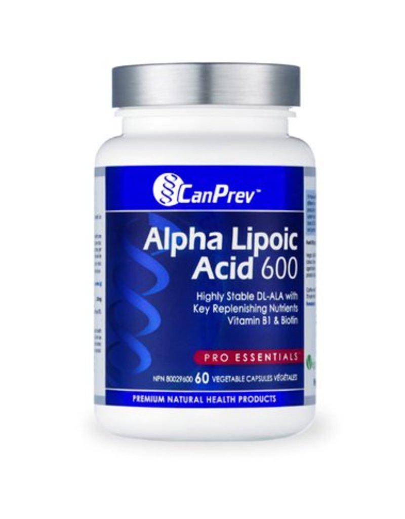 Can Prev Alpha Lipoic Acid 600 mg 60 v-caps
