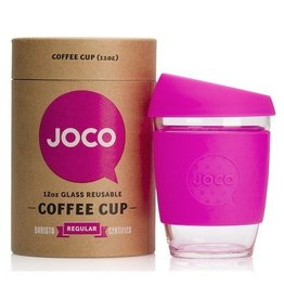 Joco Reusable Glass Cup Pink