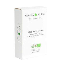 Matcha Ninja Cold Brew Matcha 10X1.5g sachets